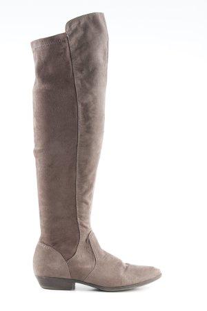 Tamaris Stretch laarzen grijs-bruin casual uitstraling
