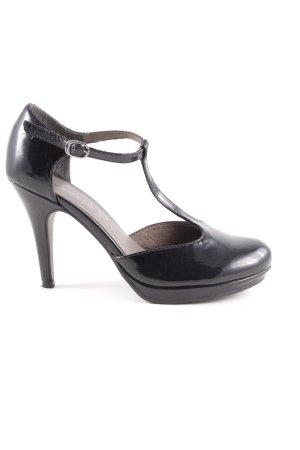 Tamaris T-Steg-Pumps schwarz Elegant