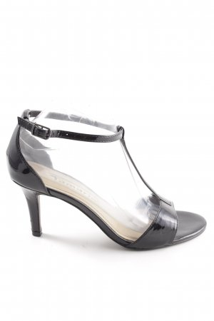 Tamaris T-Strap Sandals black business style