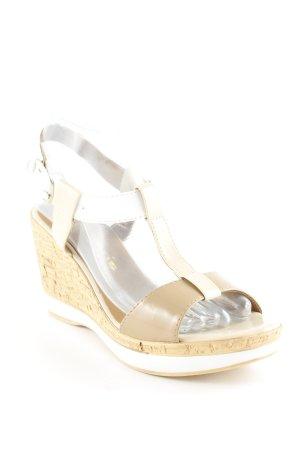 Tamaris T-Steg-Sandaletten mehrfarbig Glanz-Optik