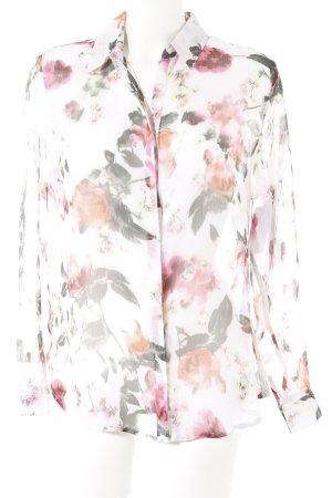 Tamaris Transparent Blouse flower pattern casual look
