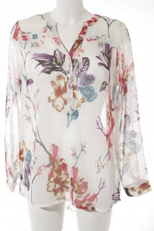 Tamaris Transparent Blouse floral pattern casual look