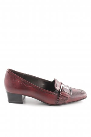 Tamaris Chaussure décontractée rouge foncé-bordeau style d'affaires