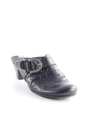 Tamaris Loafers zwart casual uitstraling
