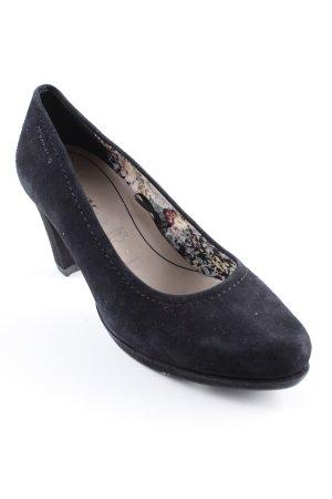 Tamaris Loafers zwart elegant