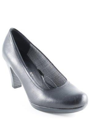 Tamaris Loafers zwart klassieke stijl