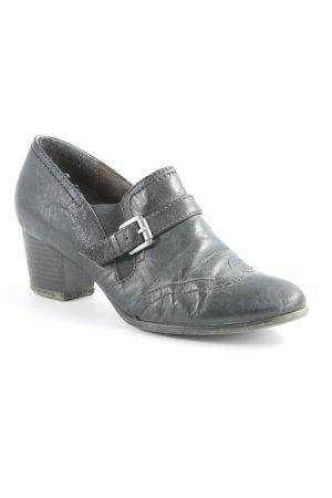 Tamaris Loafer nero-argento elegante