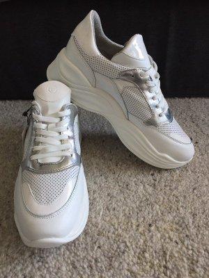 Tamaris Ugly Dad Sneaker Weiß Silber tolle Details Gr.41