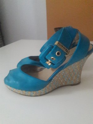 Tamaris Wedges hellblau