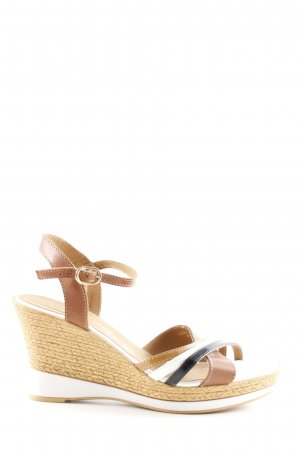 Tamaris Wedges Sandaletten mehrfarbig Casual-Look