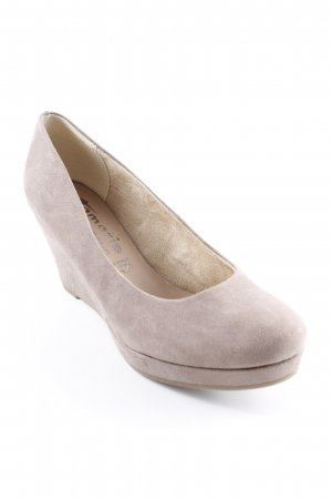 Tamaris Wedges Sandaletten grau Casual-Look