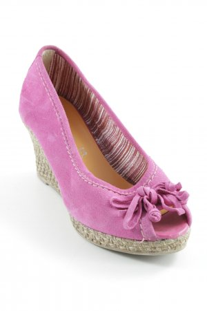 Tamaris Wedges Sandaletten pink-beige Casual-Look