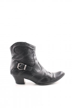 Tamaris Western Booties black classic style