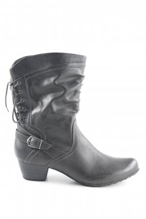 Tamaris Western Boots grey brown country style