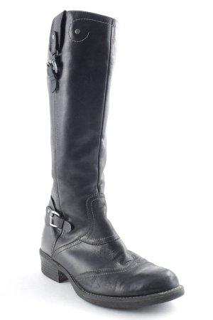 Tamaris Westernstiefel schwarz schlichter Stil