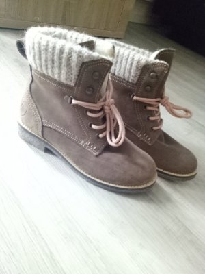 Tamaris Low boot marron clair-beige