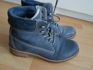 Tamaris Winter Booties blue-steel blue