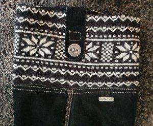 Tamaris Winter Boots white-black