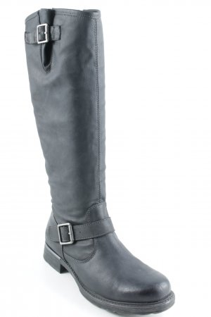Tamaris Winterstiefel schwarz Street-Fashion-Look