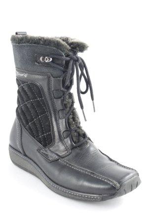 Tamaris Winter Boots black street-fashion look