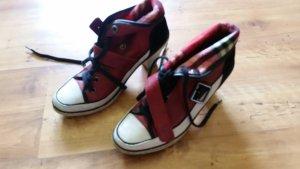Tamis Schuhe rot mit Ansatz