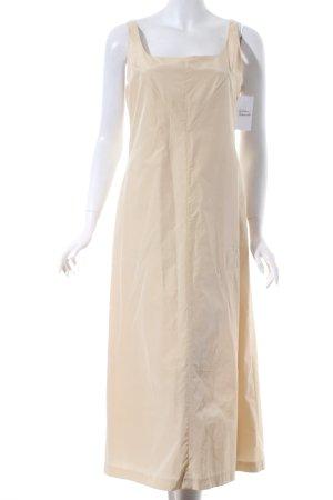 Tandem A-Linien Kleid hellbeige Schimmer-Optik