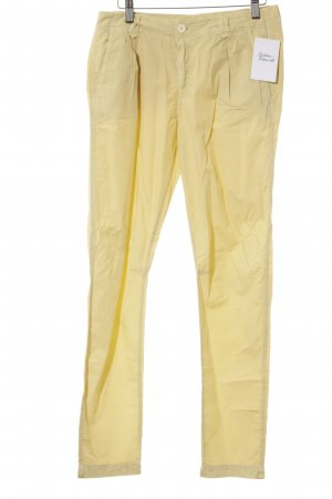 Tandem Chinohose hellgelb Casual-Look