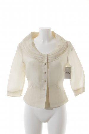 Tandem Kurz-Blazer creme Business-Look