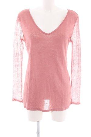 Tandem Langarm-Bluse pink Casual-Look