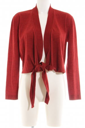 Tandem Wraparound Shirt red flecked casual look