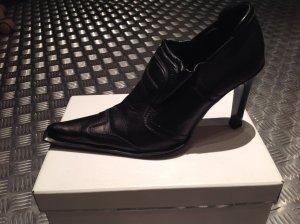 Tango Chaussure à talons carrés noir
