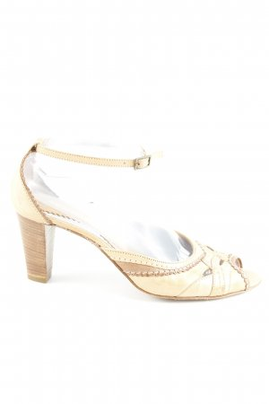 Tango Riemchenpumps beige-creme Elegant