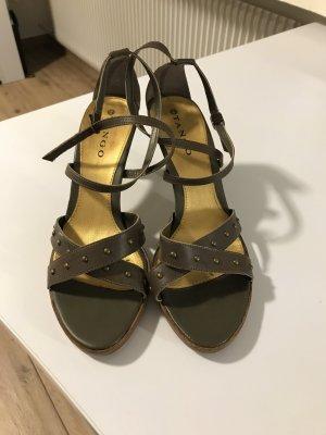 Tango Schuhe Gr. 41 olivgrün