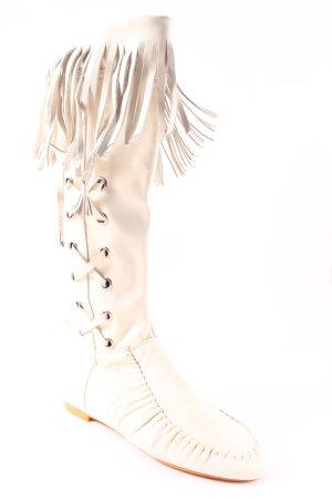 Tango Stiefel creme Street-Fashion-Look