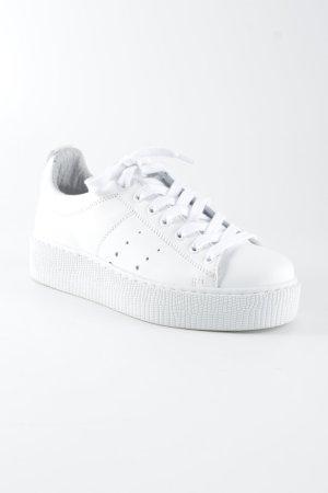 Tango Wedge Sneaker weiß Casual-Look