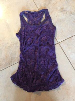 Lace Top dark violet