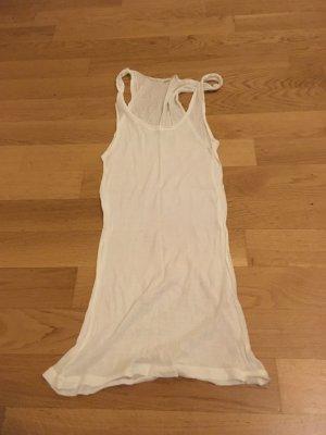 American Vintage Camiseta sin mangas blanco