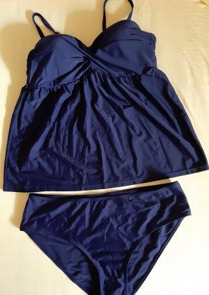 bpc Costume da bagno nero-blu scuro