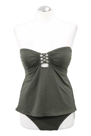 Michael Kors Tankini green grey nylon