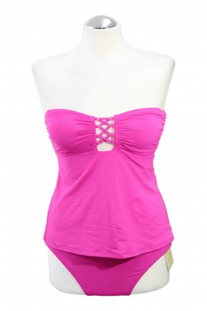 Tankini-Set in Rosa
