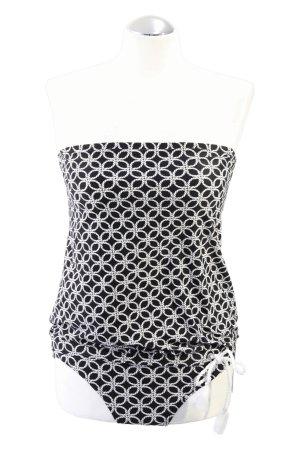 Michael Kors Tankini black-white nylon