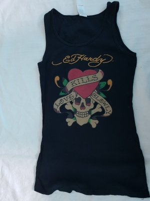 Ed Hardy Tank Top black
