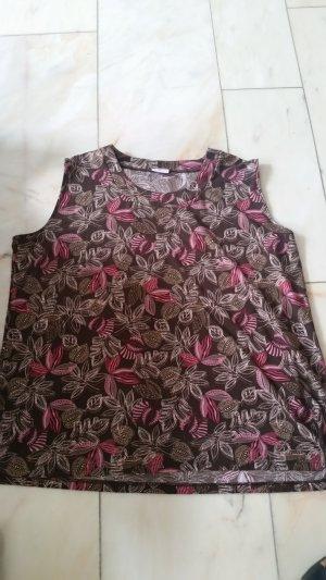 Kingfield Tanktop bruin-roze