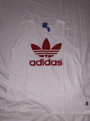Adidas Originals Débardeur blanc-rouge
