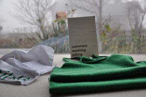 Knitted Top green cashmere