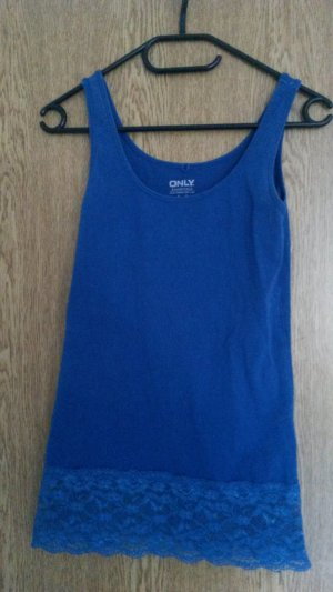 Only Tank Top blue