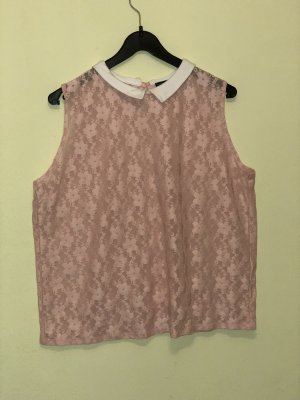 Lace Top rose-gold-coloured-white