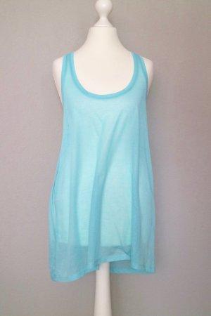 H&M Top long bleu clair-bleu clair