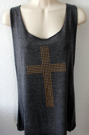 Urban Surface Camiseta sin mangas gris tejido mezclado