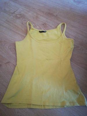 Tanktop in gelb